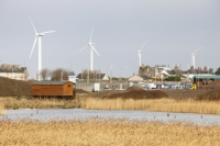 20130130_IMG_2645.jpg Wind turbines behind Siddick Pond near workington, Cumbria, UK.