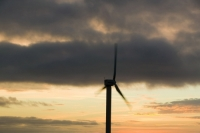 366W6079 (1)_p.jpg wind turbine's in cornwall UK at sunset near Camelford