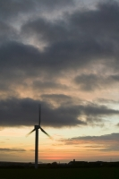 366W6083_p.jpg wind turbine's in cornwall UK at sunset near Camelford