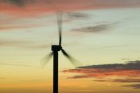 366W6114 (1)_p.jpg wind turbine's in cornwall UK at sunset near Camelford